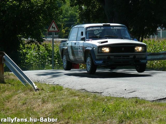 Jámbor László-Trescsik Ákos XIII. Garmin Rallye 2013