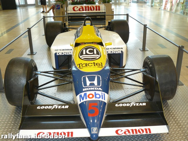 Nigel Mansell (Williams) Red Five