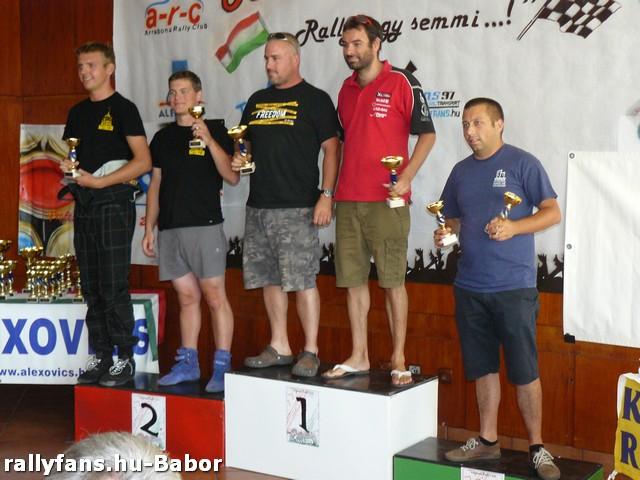 4. Mipa Color Kupa 2013 Tatabánya dobogó