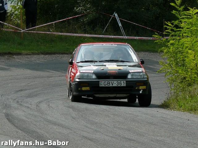 Szabó Árpád-Borsfai Dávid 5. Galgóczi Autó Kupa 2013