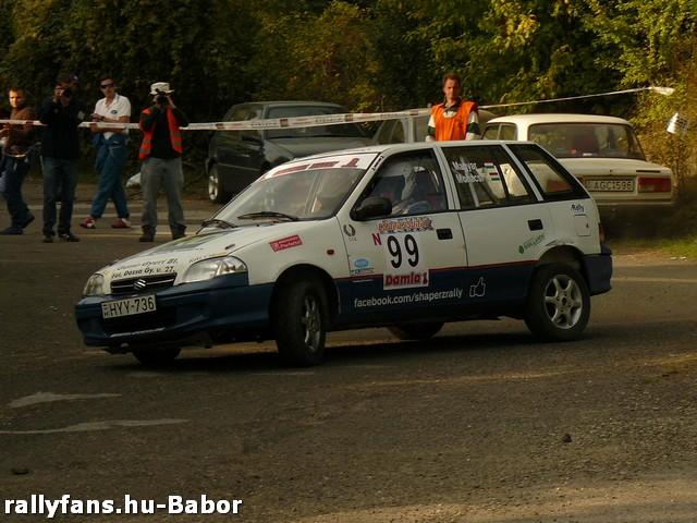 Magyar Bence Vác Rally 2013