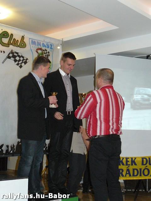 Szabó Árpád-Borsfai Dávid Céltrans Rallysprint Bajnokság 2. kategória 3. helyezetjei