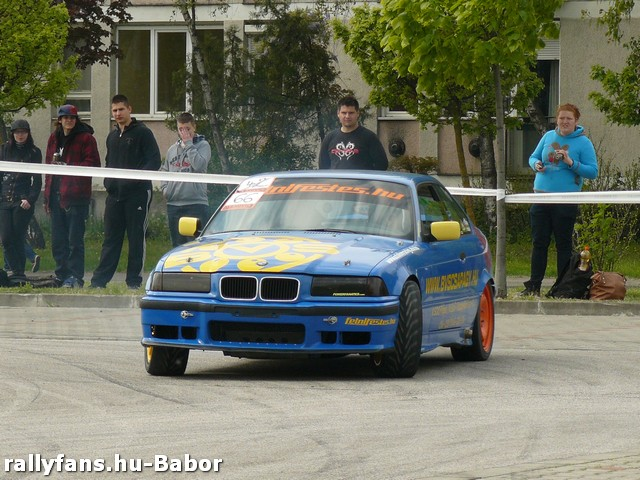 Alexovics Szlalom Kupa-1. futam 2014 BMW