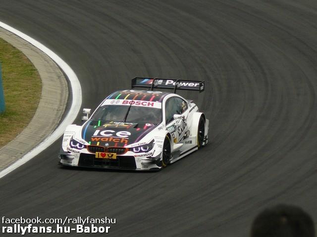 Marco Wittman (BMW) DTM Hungaroring 2014