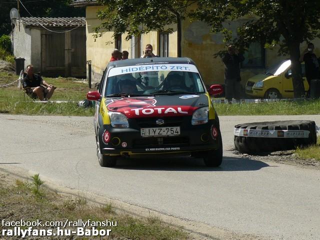 Szabó Árpád-Borsfai Dávid Székesfehérvár Rallye 2014 Rallye2