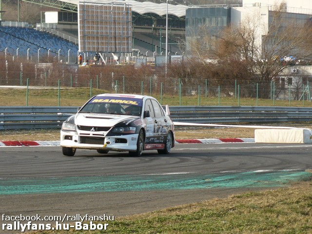 Vincze Ferenc-Kuti Péter (Mitsubishi Lancer) Szilveszter Rallye 2014