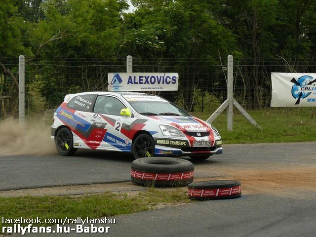 ifj. Fogarasi Attila-Toloczkó Péter (Honda Civic) Alexovics Kupa 2015 Fehérvárcsurgó
