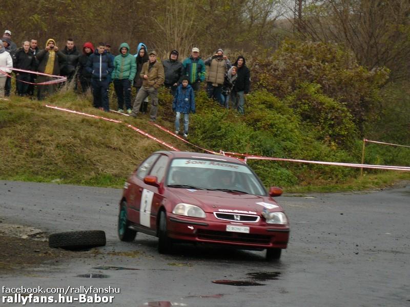 ifj. Géringer Zoltán-Somodi Attila Honda Civic MARB Bajna Lábatlan