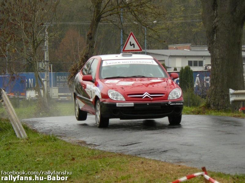 ifj. Szőke András-Szőke Nikolett Citroen Xsara 6. Auto-Szoft Rally 2015 Bajna