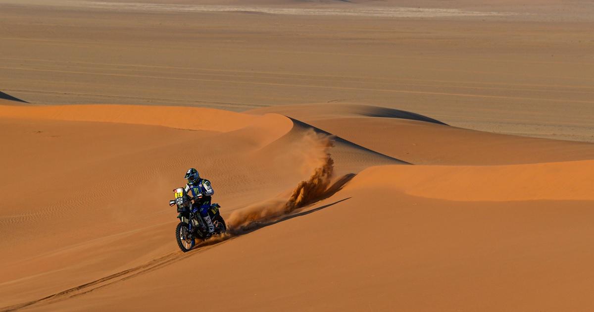 Franco Caimi Yamaha Dakar Rally