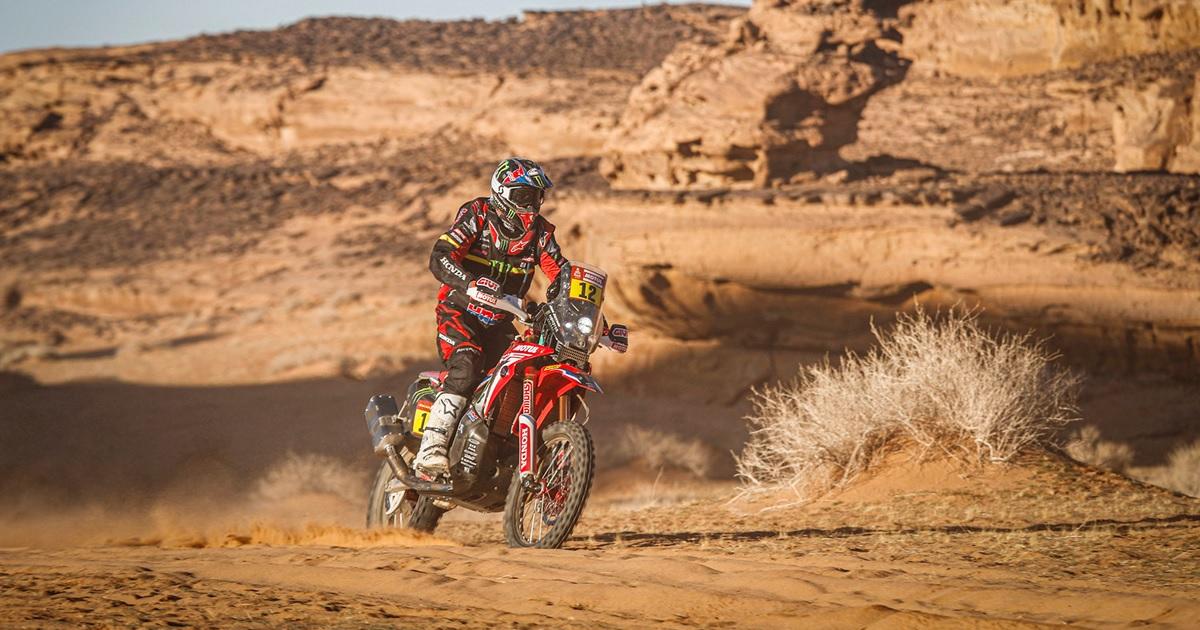 Joan Barreda Bort Honda Dakar Rally 2020