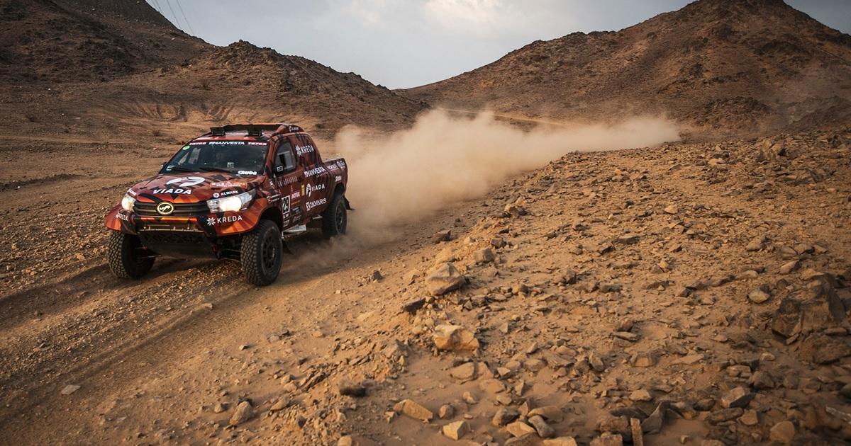 Antanas Juknevicius Dakar Rally 2021 első szakasz videó