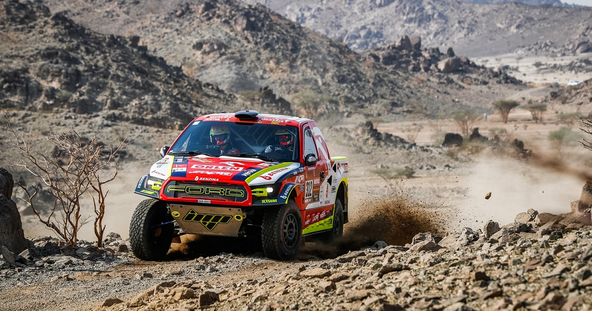 Martin Prokop Dakar Rally 2021 prológ
