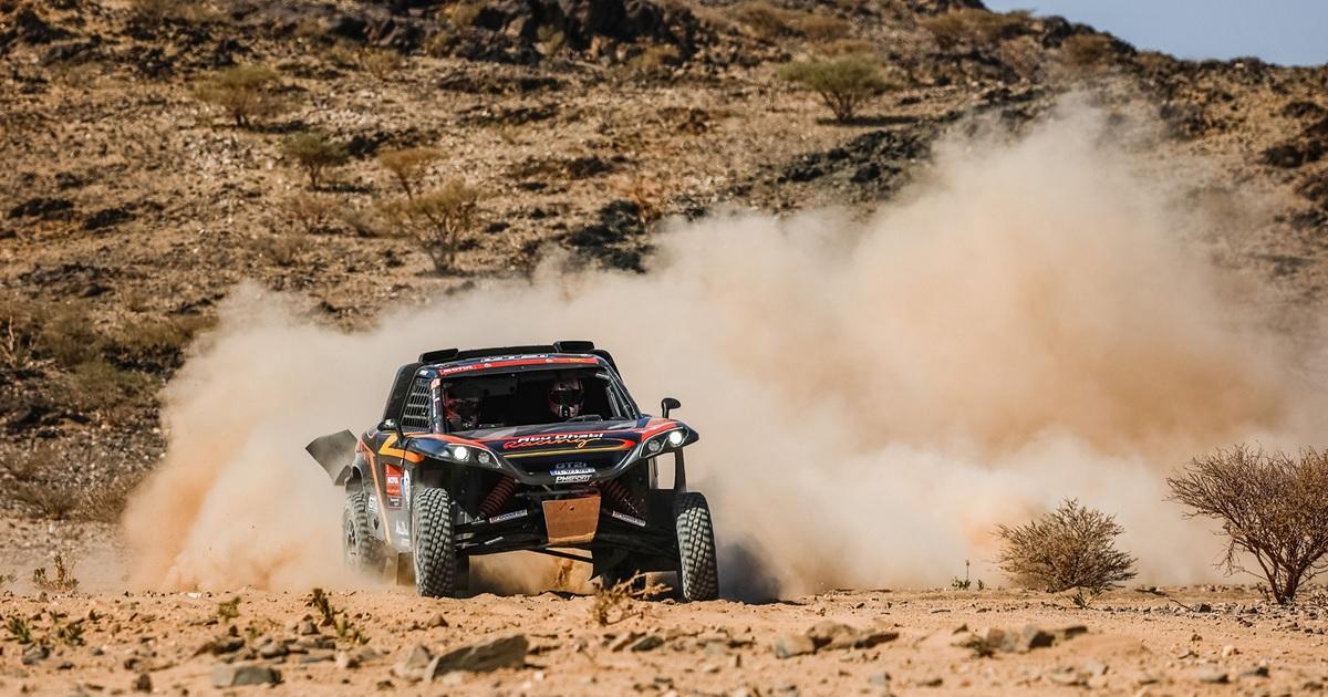 Kris Meeke Dakar Rally 2021