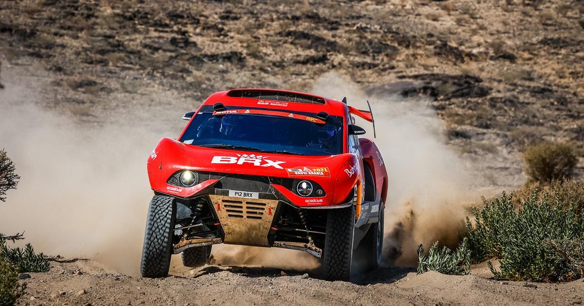 Sébastien Loeb Dakar Rally 2021 első szakasz