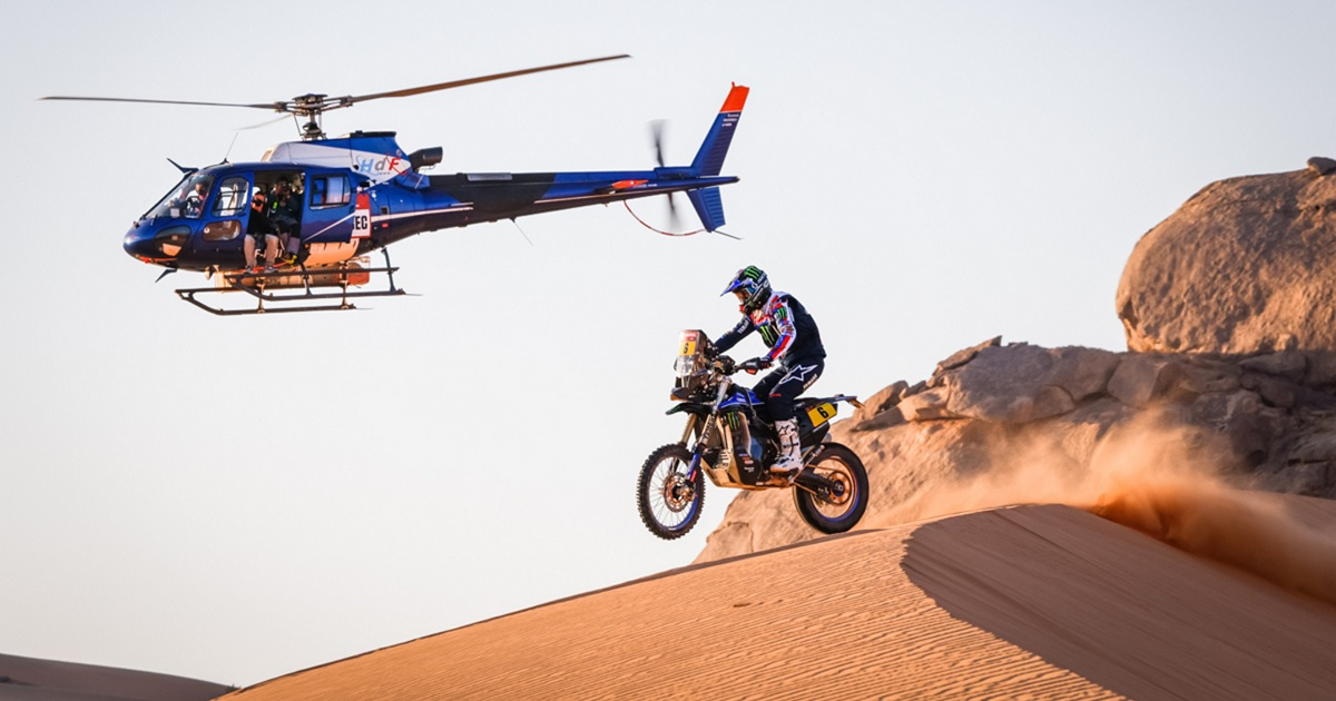 Franco Caimi Dakar 2021