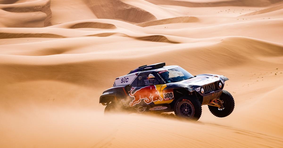 Carlos Sainz-Lucas Cruz Dakar Rally 2021 3. szakasz