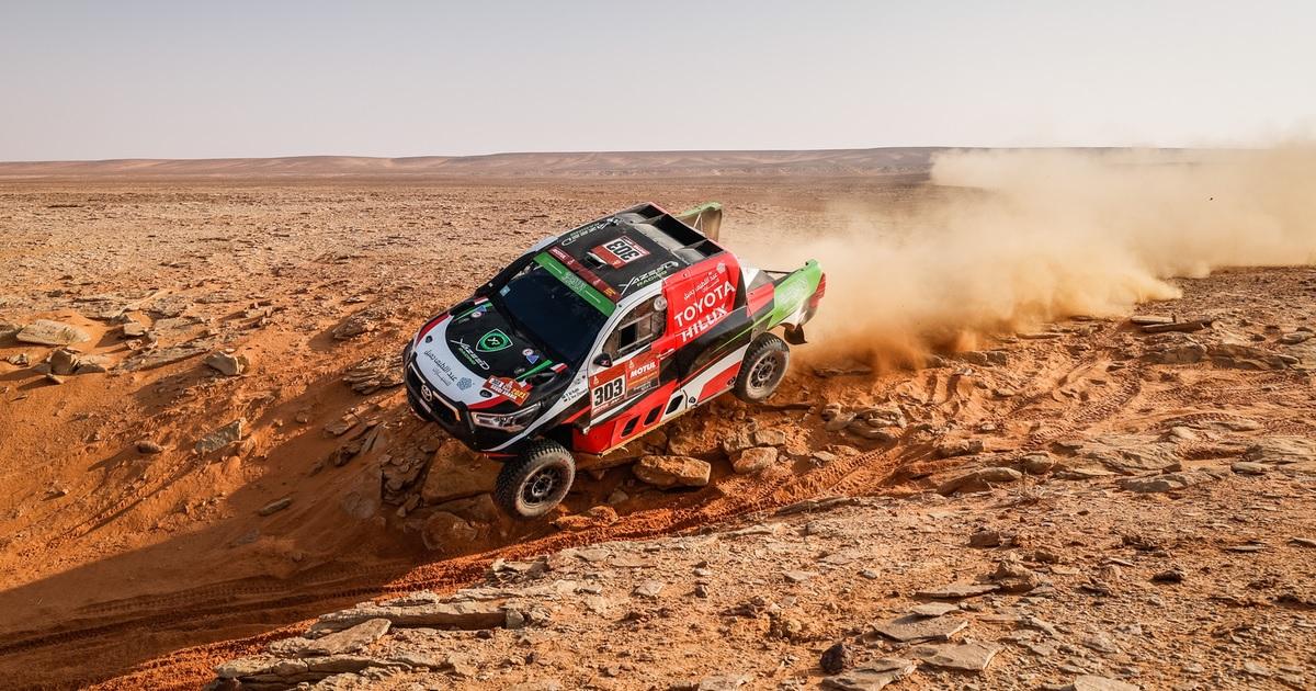 Yazeed Al Rajhi Dakar 2021