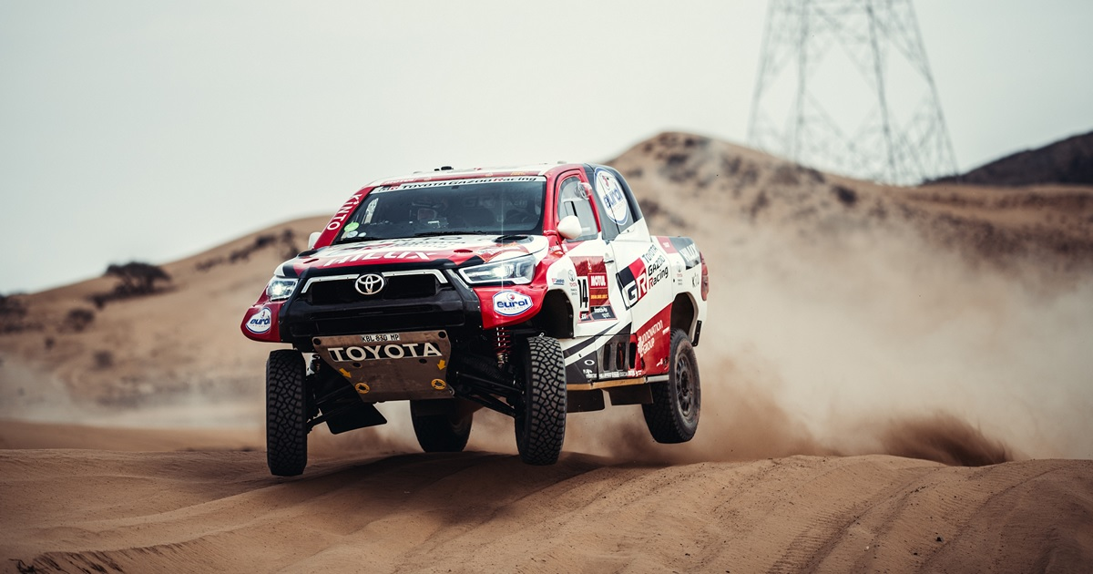 Dakar Rally 2021 Toyota Gazoo Racing