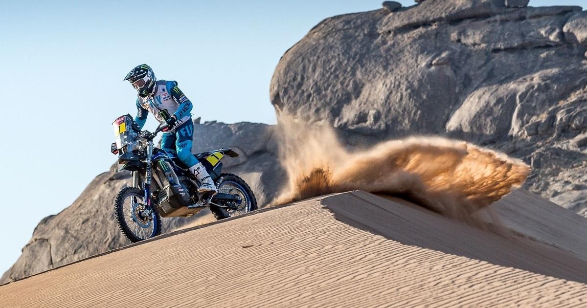 Andrew Short Yamaha Dakar Rally 2021