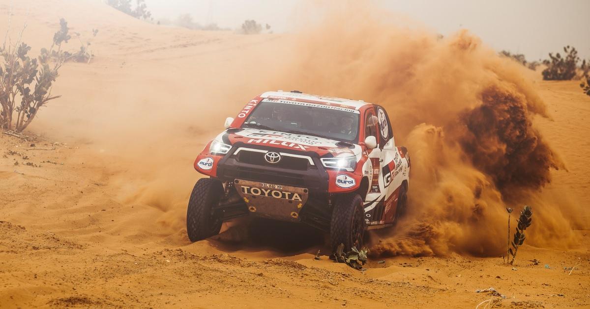 Giniel De Villiers Dakar Rally 2021