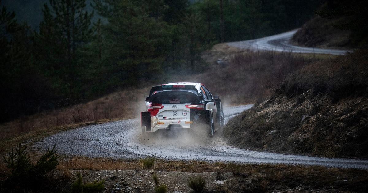 Elfyn Evans Monte-Carlo Rally 2021