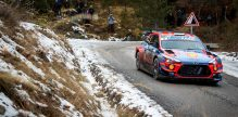 Hyundai Motorsport Monte-Carlo Rallye