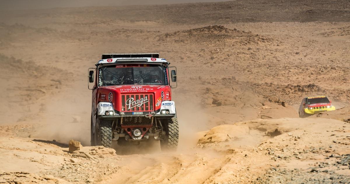 Ales Loprais Praga V4S DKR Dakar Rally 2021