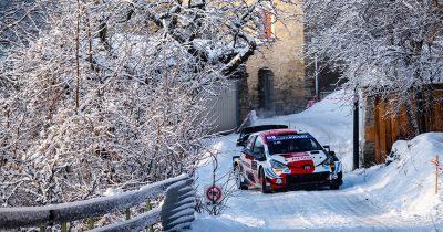 WRC Rallye Monte-Carlo 2021 Ogier