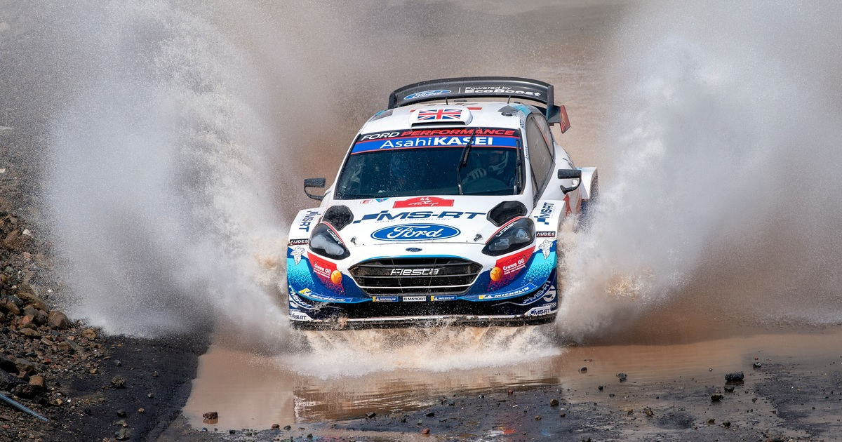 Gus Greensmith Fiesta WRC
