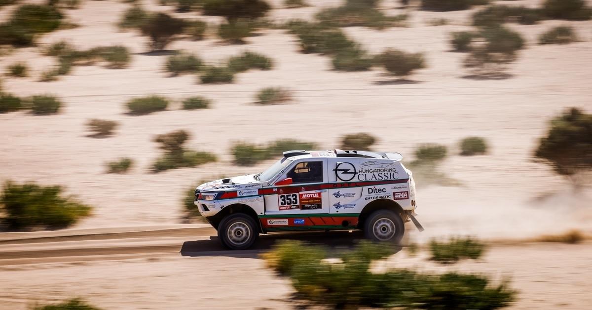 Szalay-Bunkoczi Dakar Rally 2021 első szakasz
