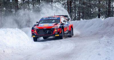 WRC Arctic Rally Finland 2021 Ott Tanak