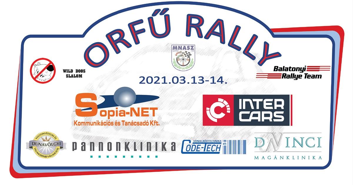 Orfű Rally 2021