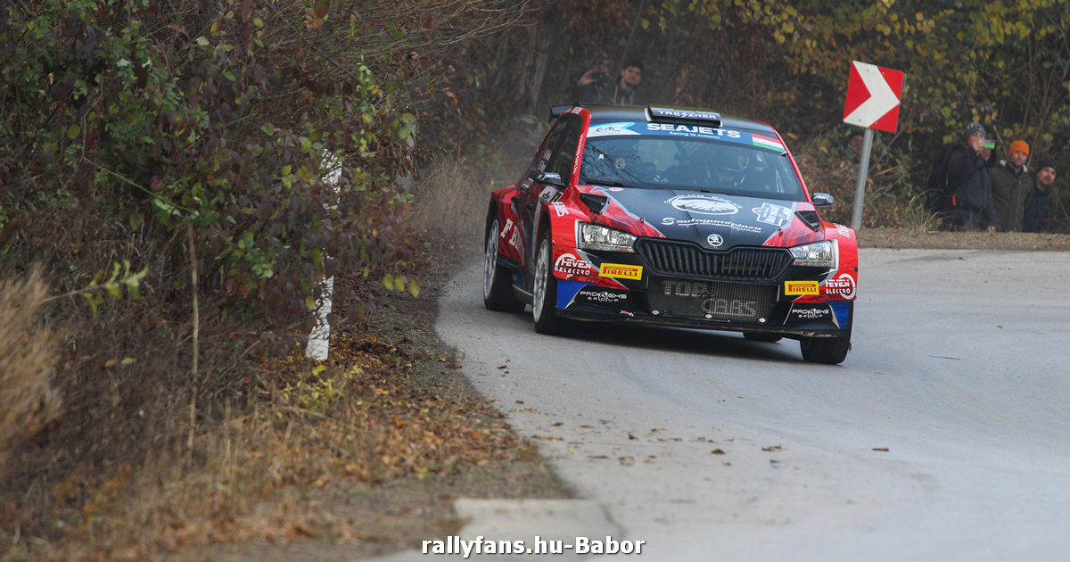Andreas Mikkelsen Rally Hungary
