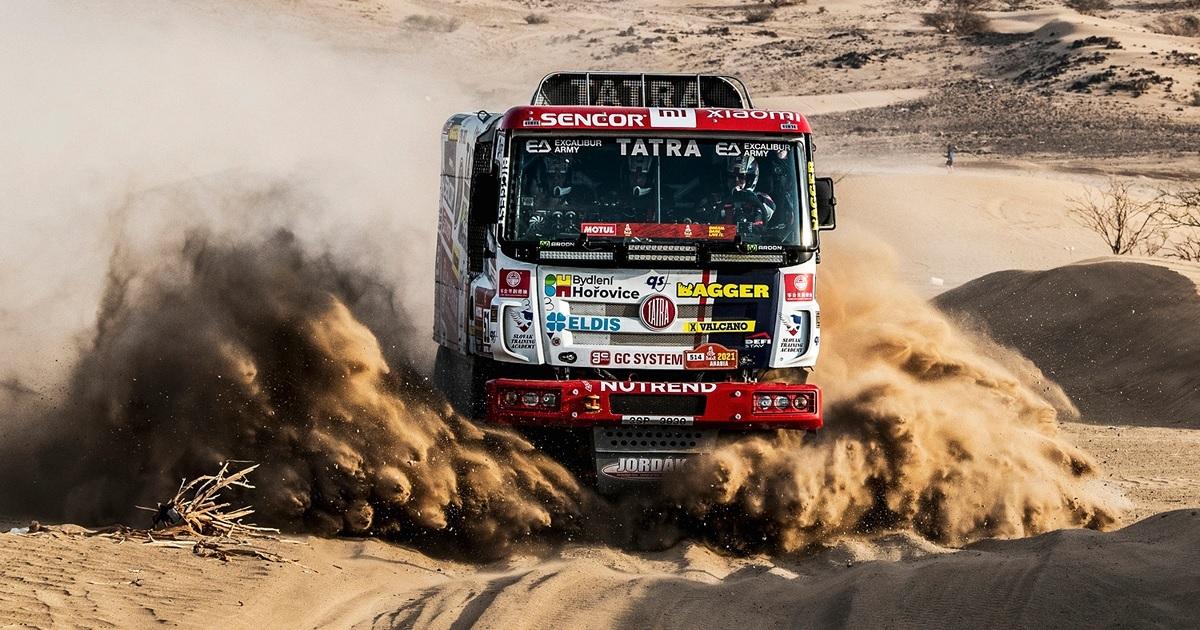 Dakar Rally 2021 shakedown