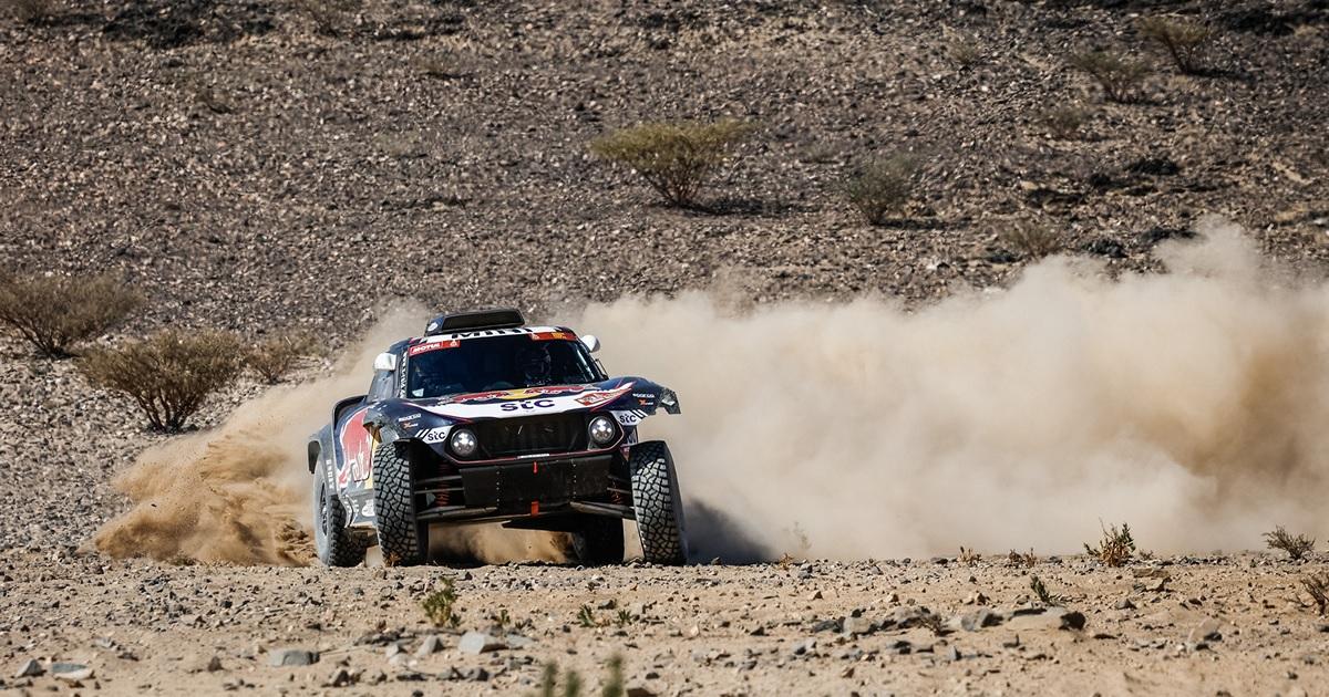 Dakar Rally 2021 első szakasz Sainz