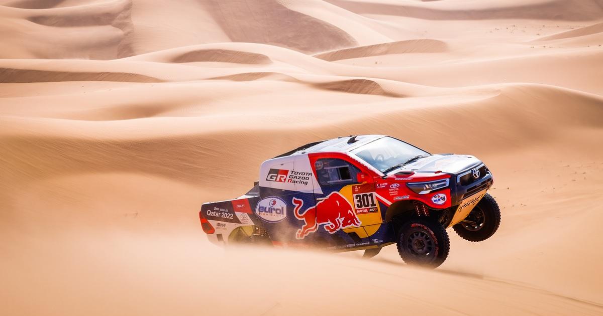 Al-Attiyah Dakar Rally 2021 harmadik szakasz