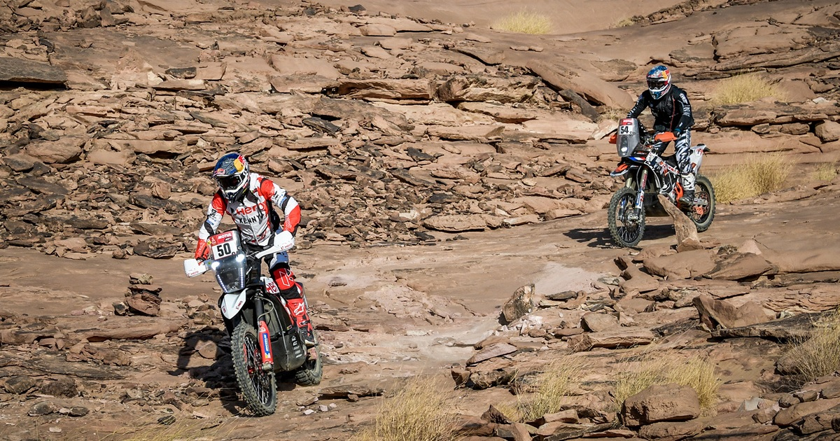 CS Santosh Dakar Rally 2021