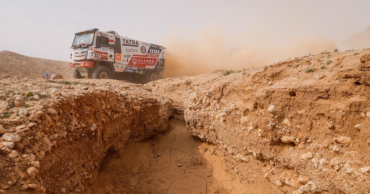 Dakar 2021 Buggyra Racing Team Tatra