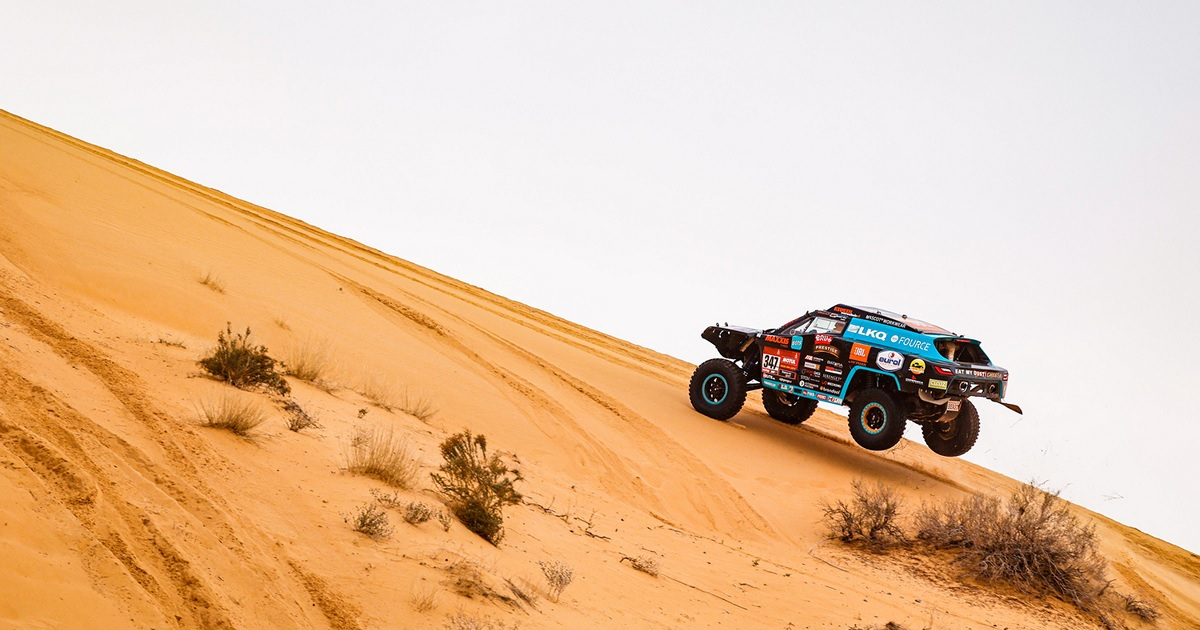 Tim Coronel Dakar Rally 2021