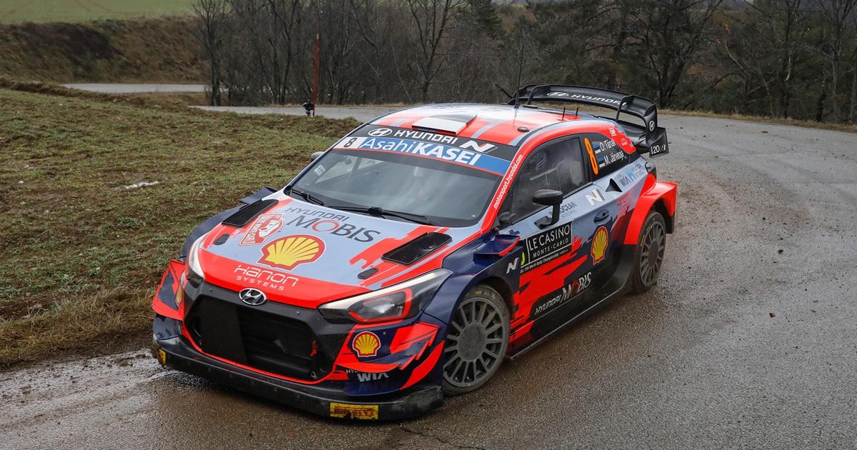 WRC Monte-Carlo Rally 2021