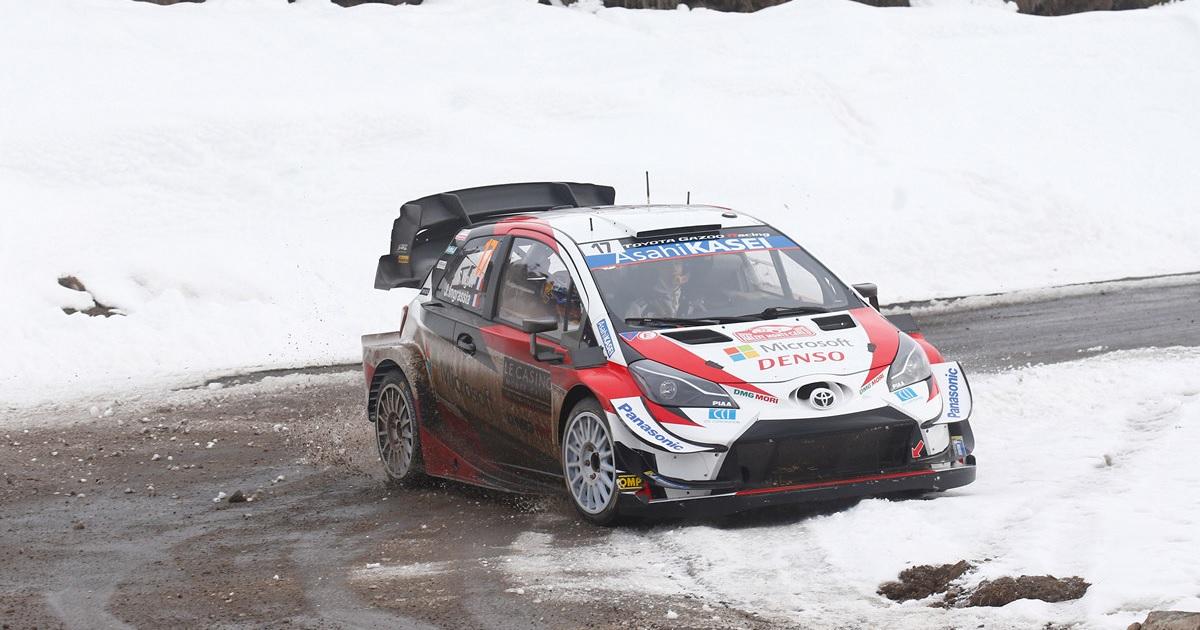 Toyota WRC Rallye Monte-Carlo