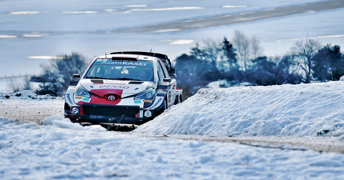 Sébastien Ogier Monte-Carlo Rally 2021