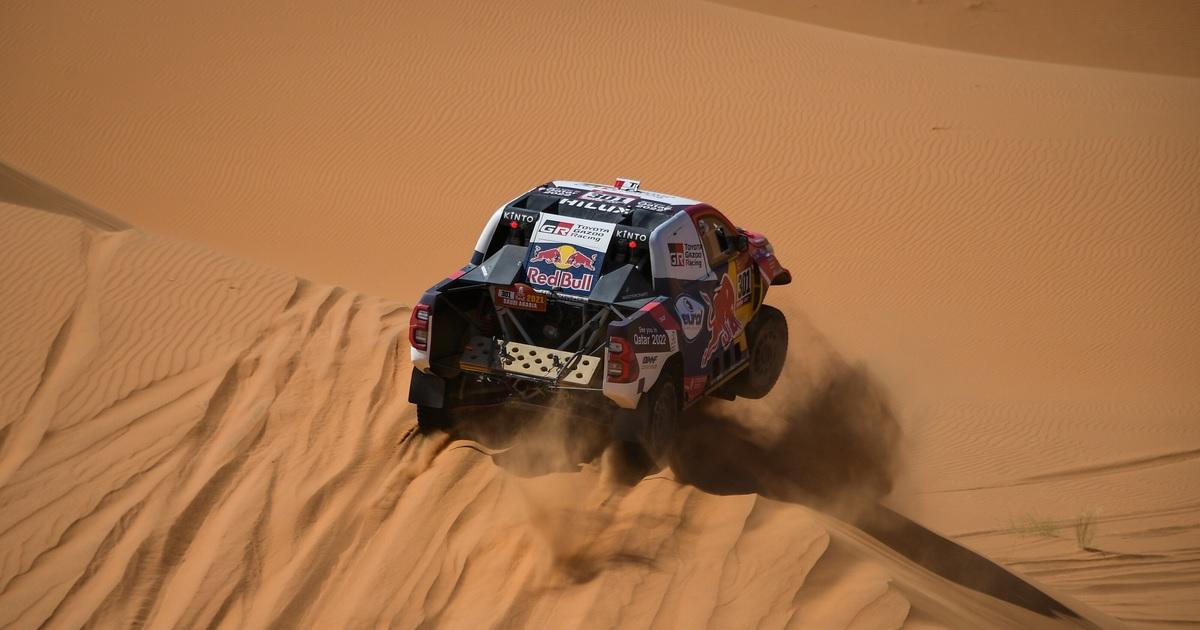 Al-Attiyah Dakar 2021 4. szakasz