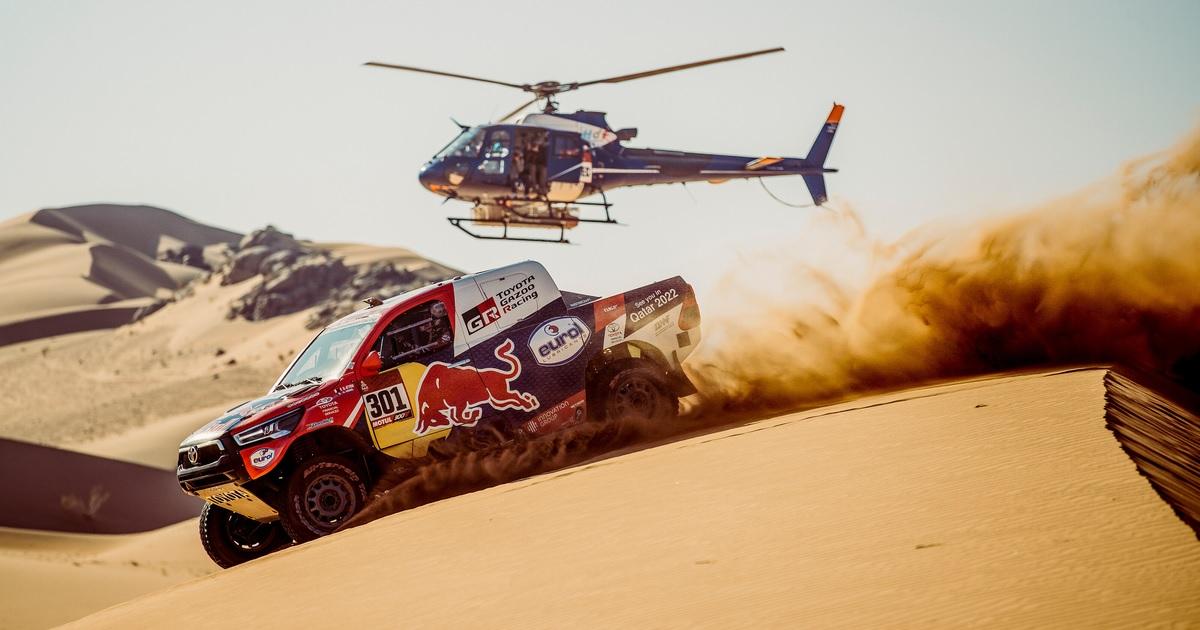 Nasser Al-Attiyah Dakar Rally 2021 második szakasz