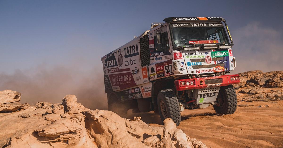 Ignacio Casale (Tatara) Dakar Rally 2021