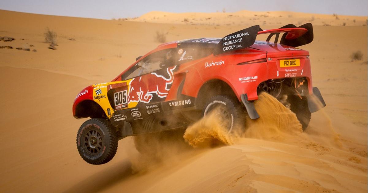 Sébastien Loeb-Daniel Elena Dakar 2021
