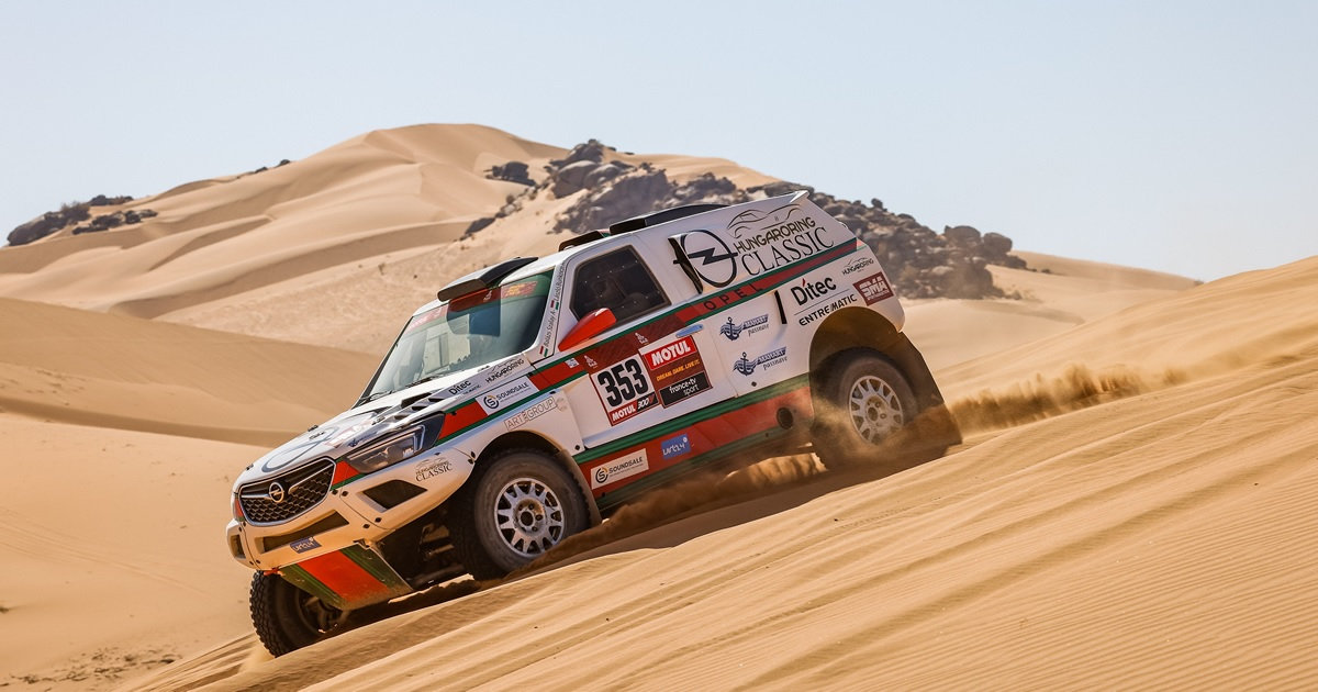 Opel Dakar Team Dakar Rally 2021