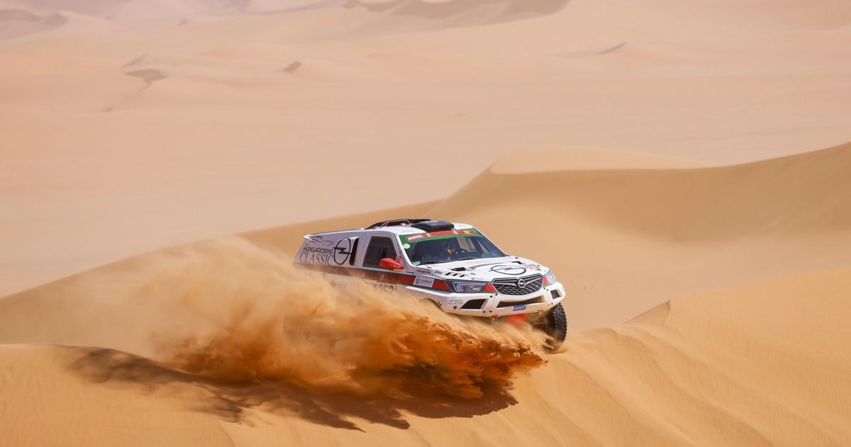 Szalay-Bunkoczi Dakar 2021 3. szakasz