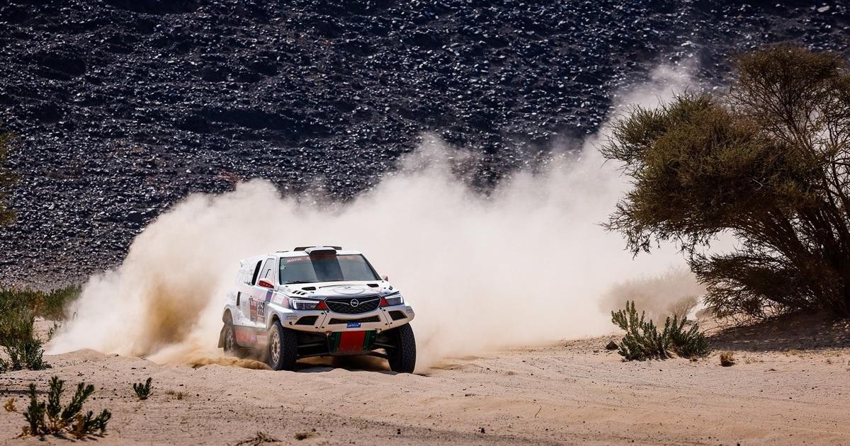 Opel Dakar Team Dakar 2021 4. szakasz